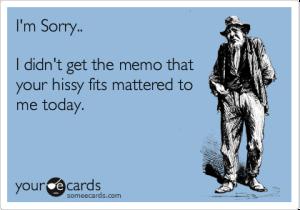 Yes, I'm sure you matter... *pat pat pat*